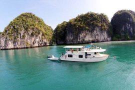 Coastal Cruiser in Phang Nga Bay