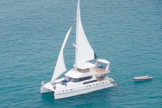 70 Ft Luxury Sailing And Motor Catamaran