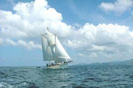 Classic Schooner Racing Yacht