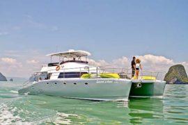 Escape Artist Motor Catamaran