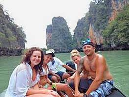 group day yacht charter in phang nga bay