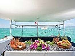 thai and western food on board our yachts epic charters phuket