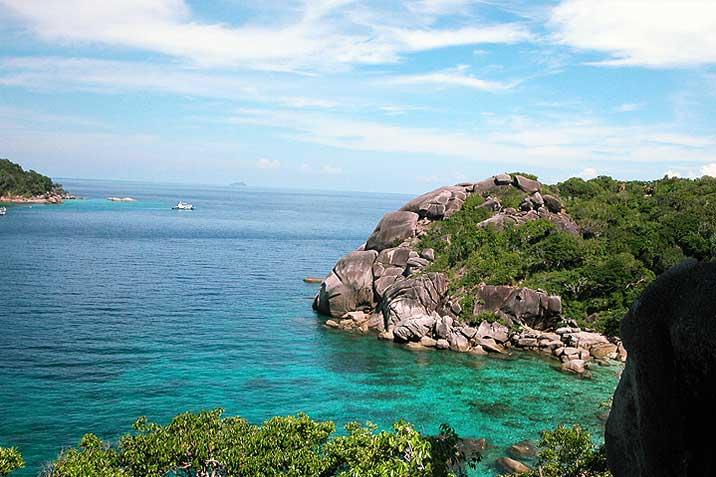 similan islands national park yacht charter