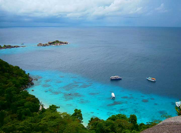 Similan Islands National Park Yacht Charter - epic charters
