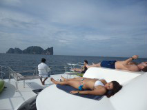 Private Diving and Sightseeing boat charter to Phi Phi Islands